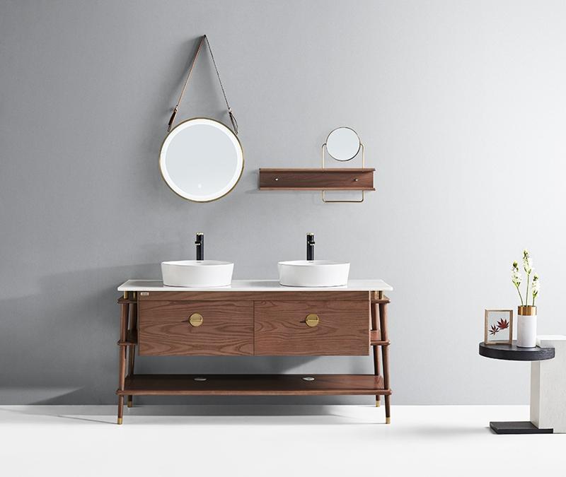 浴室柜也能拥有很强的收纳功能,你可知道?