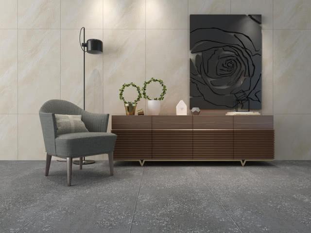 质感空间,为什么选用水磨石瓷砖