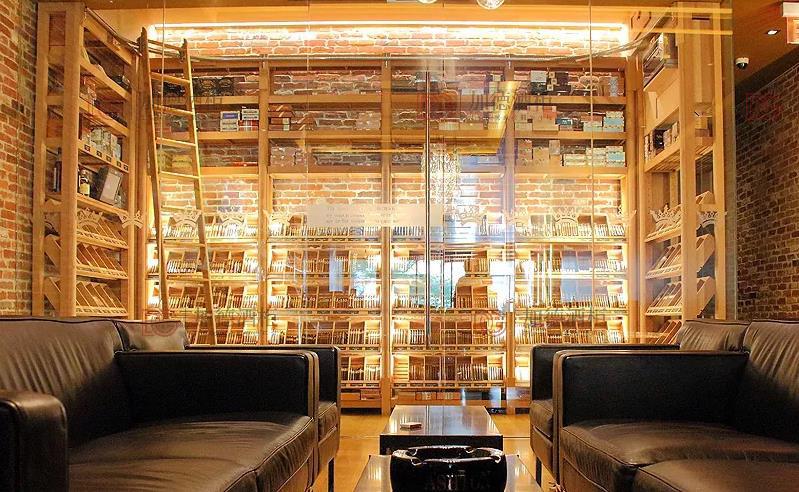 雪茄房设计体验馆