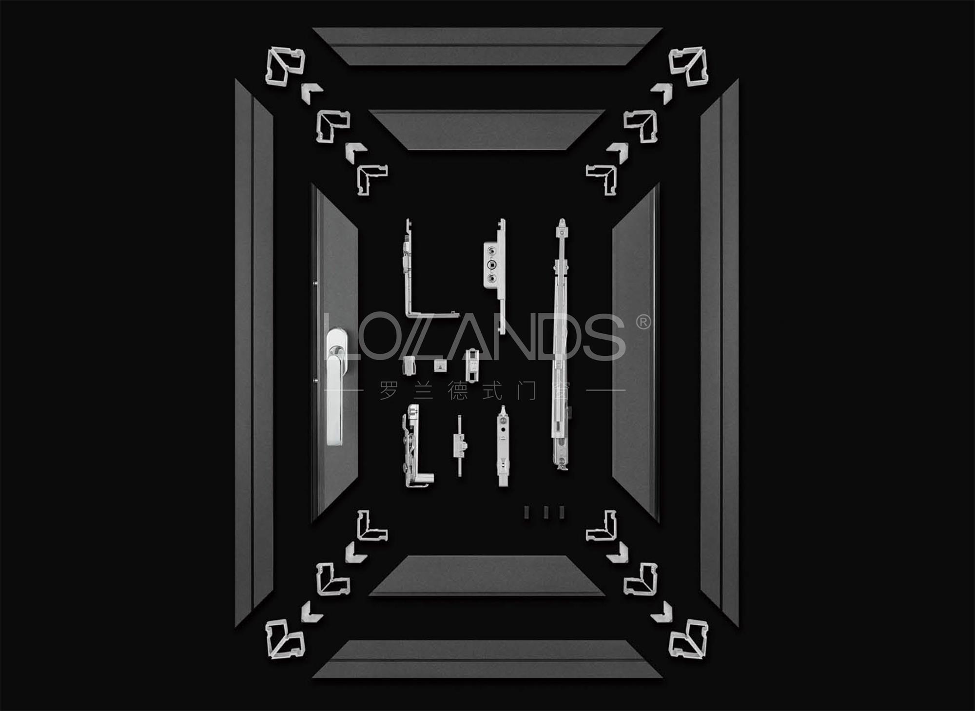 罗兰德式门窗丨匠心品质、极致轻奢